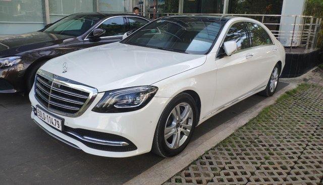 Cần bán Mercedes S450 năm 2018, màu trắng, bảo hành đến 2021