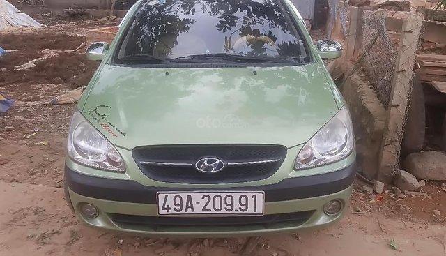 Bán Hyundai Getz 2009, màu xanh lam, nhập khẩu