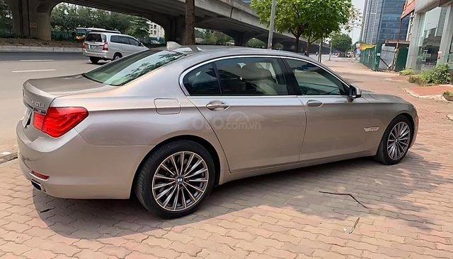 Bán BMW 7 Series 2009, màu vàng, nhập khẩu