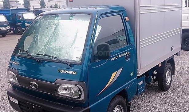Bán xe Thaco TOWNER 800 đời 2018, màu xanh lam