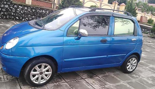 Cần bán xe Daewoo Matiz SE 0.8 MT đời 2007, màu xanh lam, giá tốt