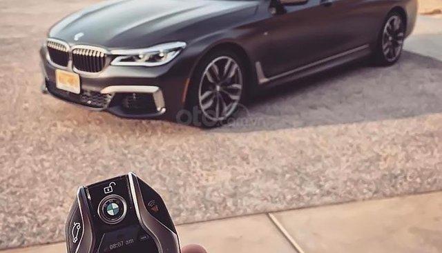 Bán xe BMW 7 Series 740Li đời 2019, màu đen, xe nhập