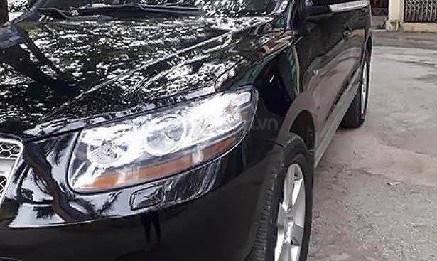 Cần bán gấp Hyundai Santa Fe SLX 2009, màu đen