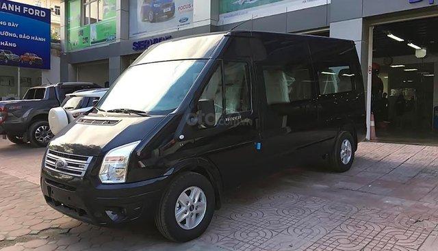 Bán xe Ford Transit Luxury 2019, màu đen, giá tốt