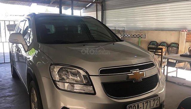 Chính chủ bán Chevrolet Orlando LTZ 1.8 sản xuất năm 2017, màu bạc