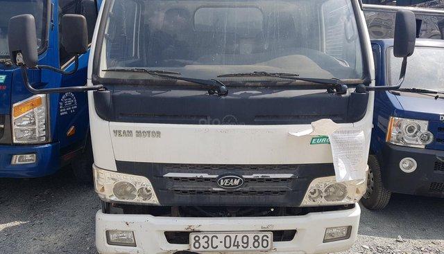 Bán ô tô Veam VT200, máy 2.5, tải 2 tấn 150 kg, sản xuất 2017, màu trắng, đấu giá từ 210 triệu