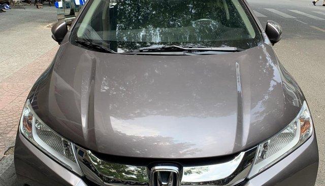Cần bán Honda City Sx 2017, màu nâu