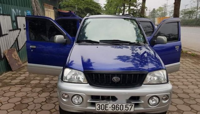 Cần bán gấp Daihatsu Terios đời 2003, màu xanh lam