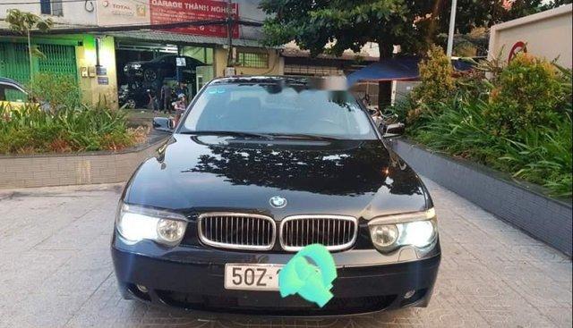 Bán xe BMW 745i 2002, màu đen, xe nhập, 420tr