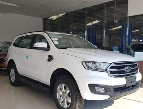Bán Ford Everest 2019, màu trắng, nhập khẩu