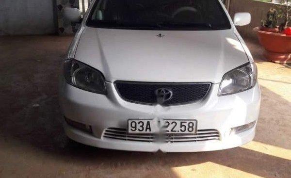 Cần bán xe Toyota Vios năm sản xuất 2006, màu trắng