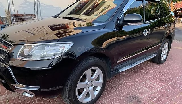 Bán xe Hyundai Santa Fe sản xuất 2009, màu đen, nhập khẩu