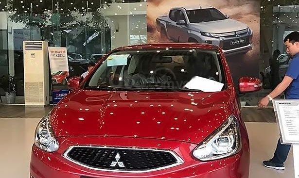 Bán Mitsubishi Mirage AT đời 2019, màu đỏ, nhập khẩu