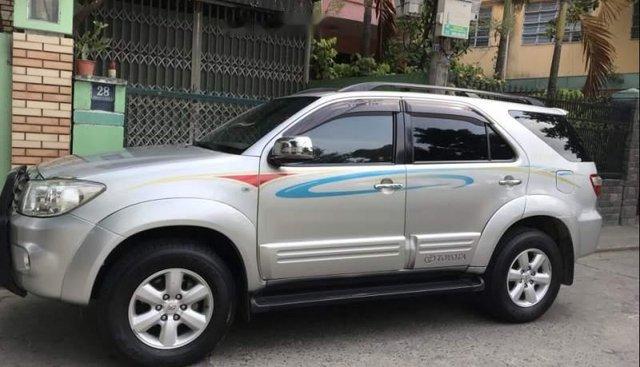Bán xe Toyota Fortuner đời 2009, màu bạc còn mới, 480tr