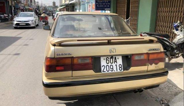 Bán Honda Accord sản xuất 1989, màu vàng, nhập khẩu xe gia đình