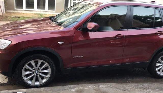 Bán BMW X3 2.8i 2013, màu đỏ, xe nhập