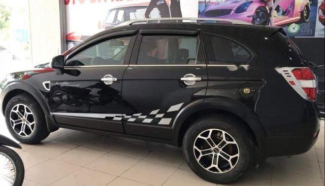 Cần bán lại xe Chevrolet Captiva năm 2007, màu đen