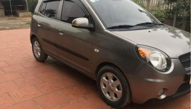 Cần bán lại xe Kia Morning đời 2010, màu xám, xe nhập