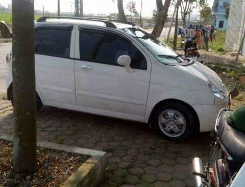 Bán ô tô Daewoo Matiz sản xuất 2007, màu trắng, xe còn đẹp, không bị tai nạn, ngập nước