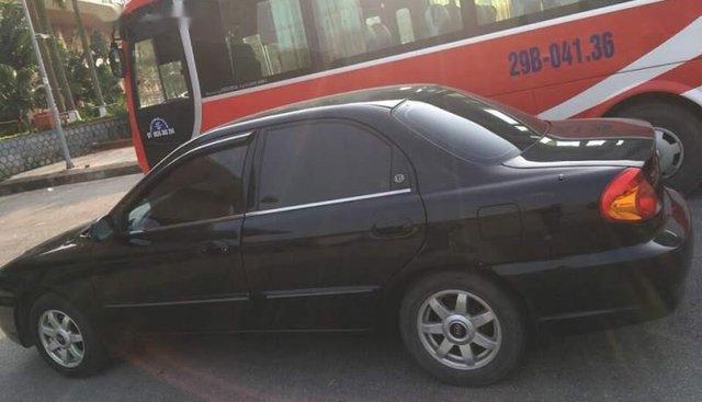 Bán Kia Spectra đời 2005, màu đen, xe nhập