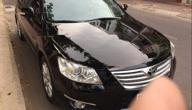 Bán ô tô Toyota Camry 3.5Q 2007, màu đen, nhập khẩu Thái Lan