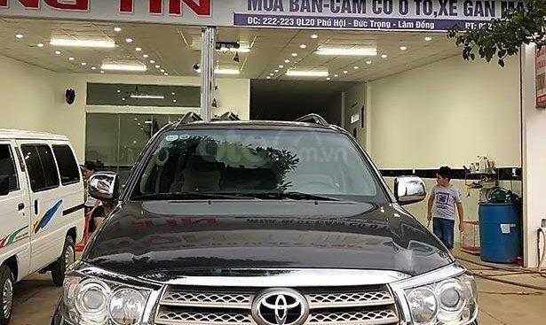 Bán ô tô Toyota Fortuner 2.5G năm sản xuất 2010, màu bạc