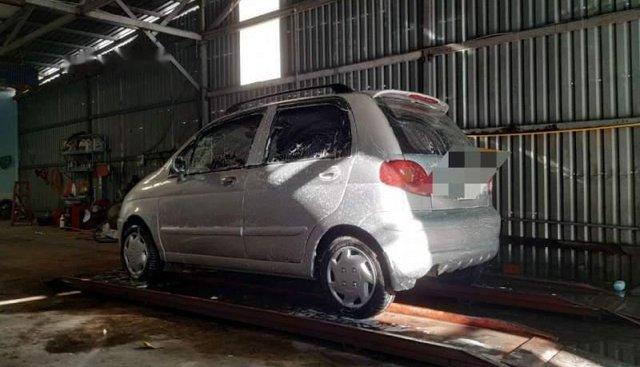 Bán Daewoo Matiz SE 2003, màu bạc chính chủ