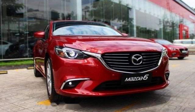 Bán Mazda 6 sản xuất 2019, màu đỏ, nhập khẩu nguyên chiếc