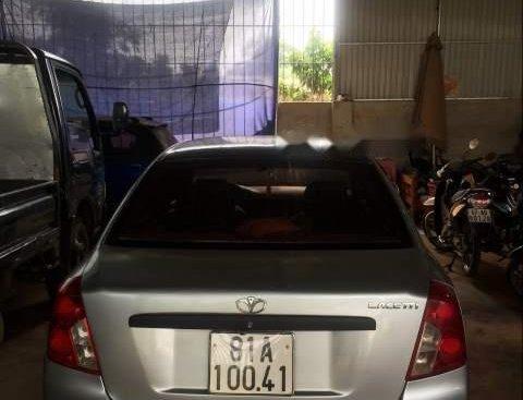Cần bán Daewoo Lacetti đời 2005, màu bạc, giá chỉ 140 triệu