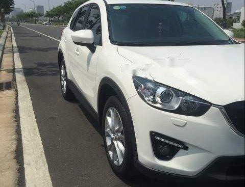 Cần bán Mazda CX 5 2014, màu trắng, nhập khẩu nguyên chiếc