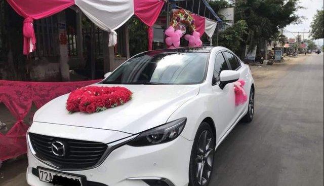 Bán Mazda 6 năm sản xuất 2017, màu trắng
