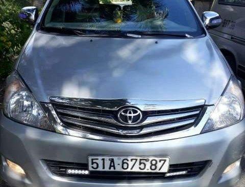 Bán ô tô Toyota Innova J đời 2007, màu bạc, xe nhập