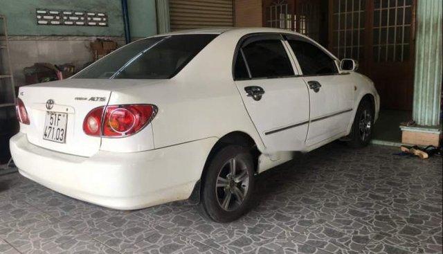 Bán xe Toyota Corolla altis đời 2003, màu trắng, xe nhập số sàn