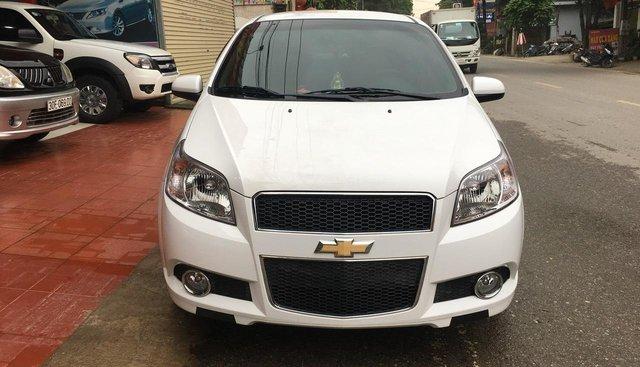 Bán Chevrolet Aveo sản xuất 2018, màu trắng, giá 365tr