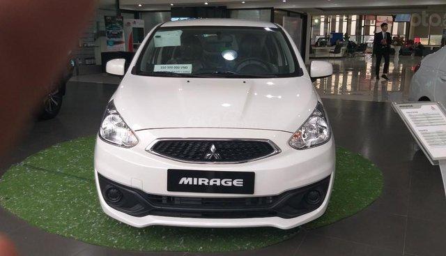 Bán xe Mitsubishi Mirage sản xuất năm 2019, màu trắng, xe nhập Thái Lan