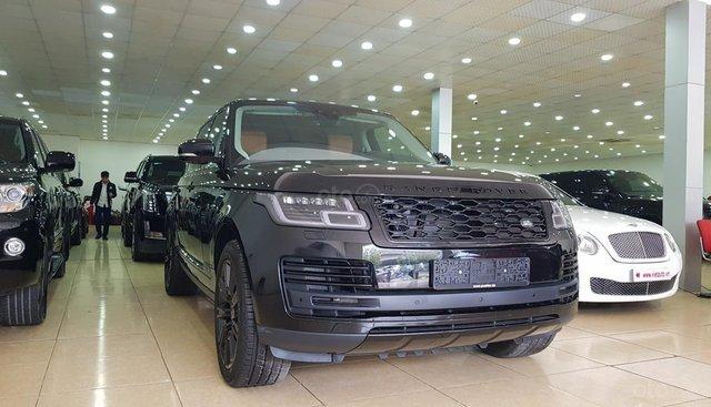 Bán Range Rover Autobiography LWB 2.0L P400E Plug - in Hybird sản xuất năm 2019, màu đen, nhập khẩu nguyên chiếc
