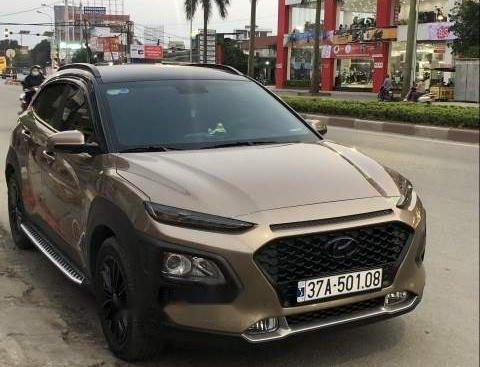 Bán Hyundai Kona đời 2018, màu nâu, nhập khẩu, giá 680tr