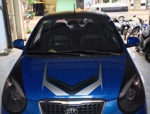Bán ô tô Kia Morning Sport đời 2011, màu xanh lam xe gia đình