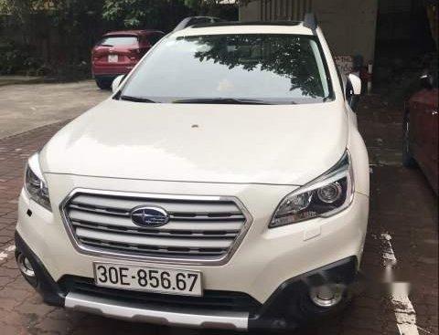 Cần bán lại xe Subaru Outback đời 2016, màu trắng, nhập khẩu nguyên chiếc chính chủ