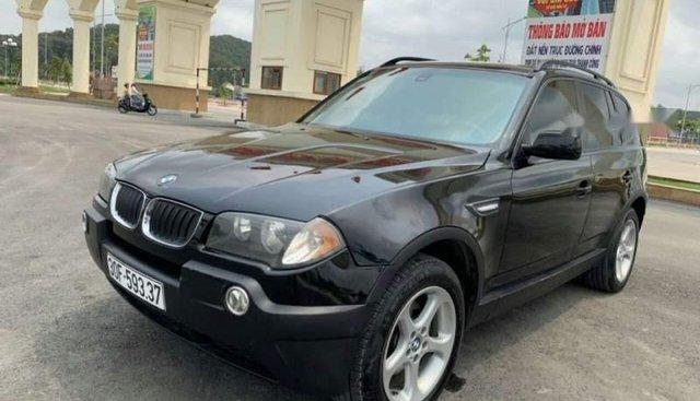 Bán BMW X3 đời 2005, màu đen, nhập khẩu nguyên chiếc chính chủ