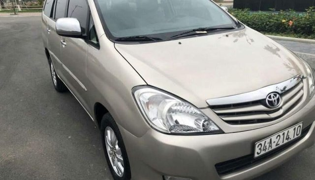 Bán Toyota Innova đời 2010, giá tốt