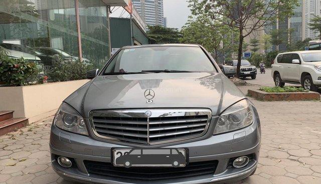 Bán Mercedes C200 đời 2010, màu xám