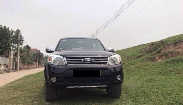 Cần bán gấp Ford Everest đời 2016, màu đen, giá tốt