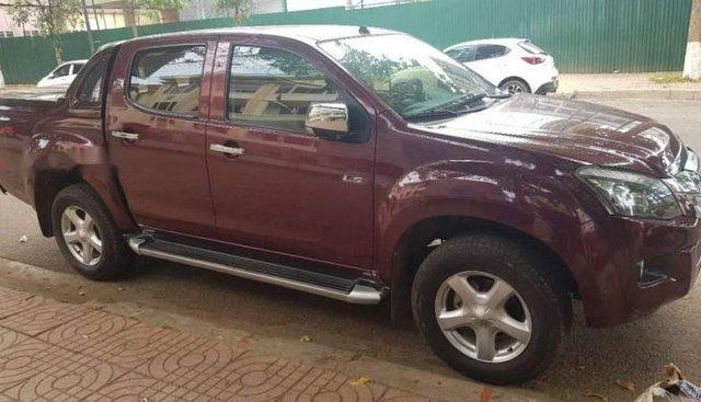 Bán xe Isuzu Dmax năm sản xuất 2013, màu đỏ, nhập khẩu nguyên chiếc số sàn, giá 445tr