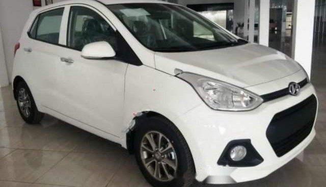Bán Hyundai Grand i10 1.0 MT năm 2014, màu trắng