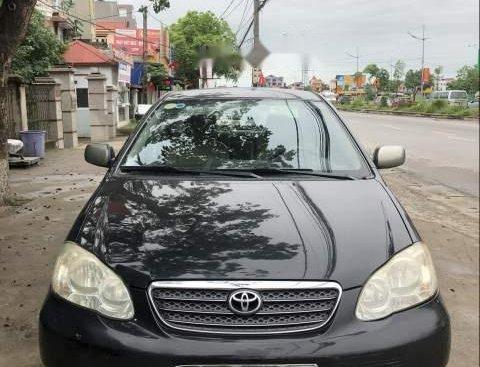 Bán Toyota Corolla altis đời 2004, màu đen, nhập khẩu