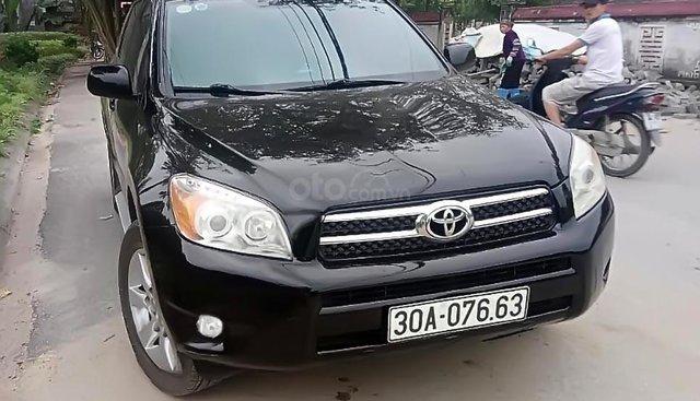 Bán Toyota RAV4 Limited 2.4 FWD sản xuất 2007, màu đen, nhập khẩu xe gia đình