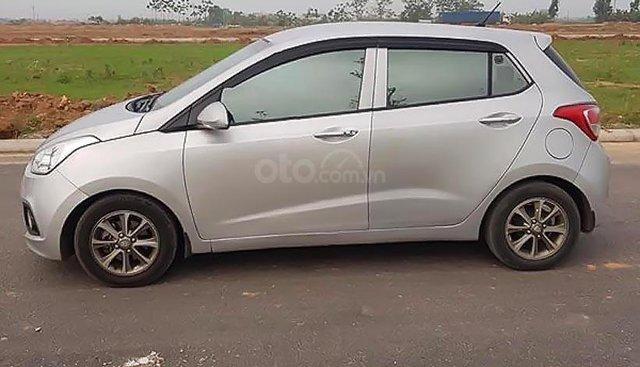 Bán Hyundai Grand i10 1.0 MT đời 2014, màu bạc, xe nhập