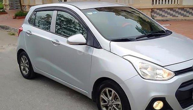 Bán Hyundai Grand i10 1.0 MT sản xuất 2014, màu bạc, nhập khẩu