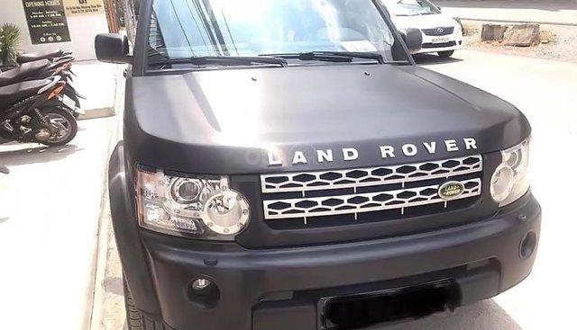 Bán xe LandRover Discovery sản xuất năm 2010, màu đen, nhập khẩu